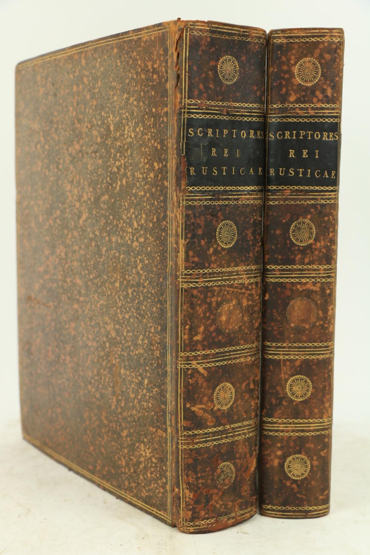 Gesnero (J. Matthia)ÿScriptores Rei Rusticae Veteres Latini, 2 vols. 4to Leipzig 1773 - 74.ÿSecond