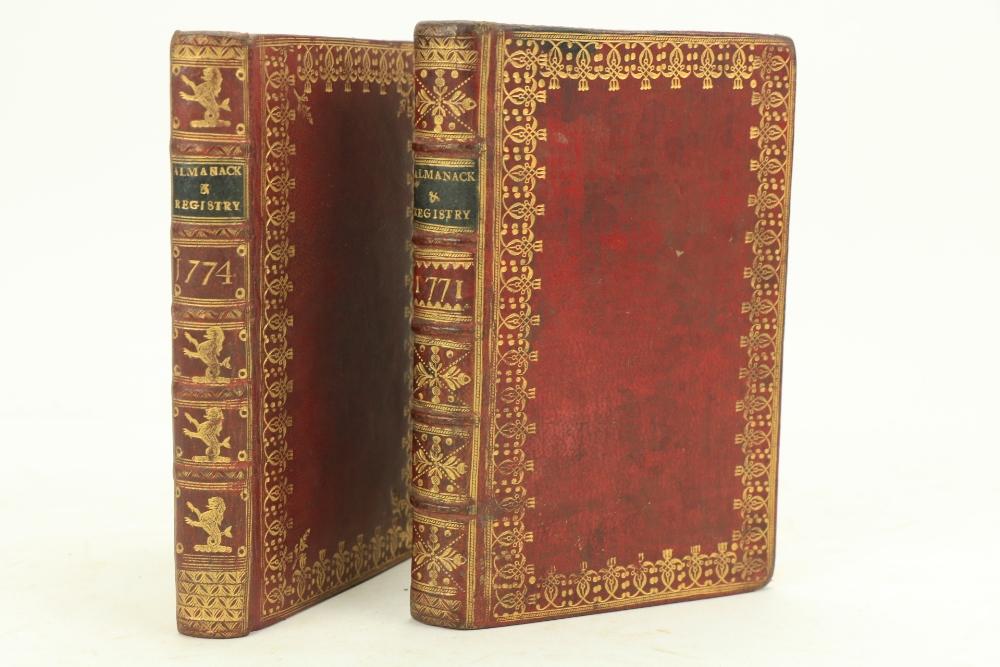 In Fine Contemporary Irish Bindingsÿ Almanacs Etc:ÿÿWatson (Samuel)ÿThe Gentleman's and Citizen's