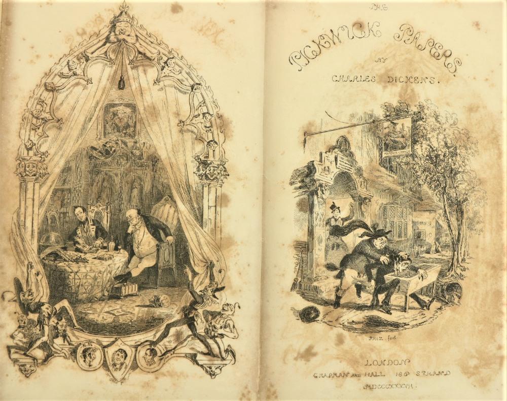 Dickens (Charles)ÿTheÿLife and Adventures of Nicholas Nickleby, 8vo Lond. (Chapman & Hall) 1839. - Image 4 of 4