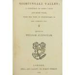 Irish Poetry: Allingham (Wm.)ed.ÿNightingale Valley; A Collection of Choice Lyrics and Short