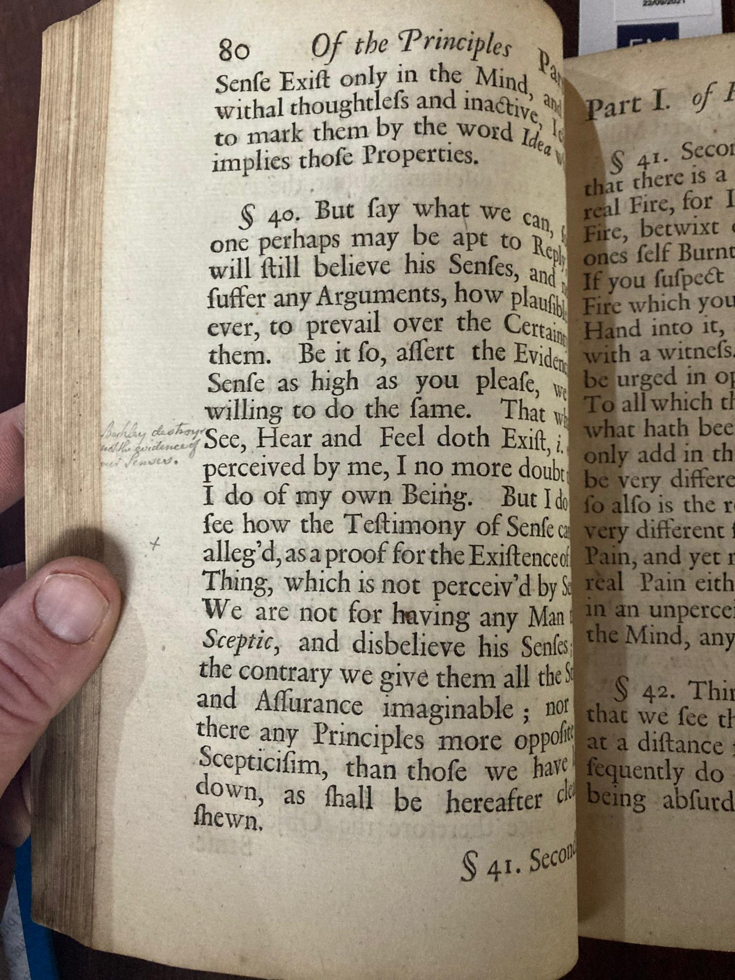 The Key Book for any Berkeley Collection Berkeley (George)ÿA Treatise Concerningÿthe principles of - Image 13 of 20