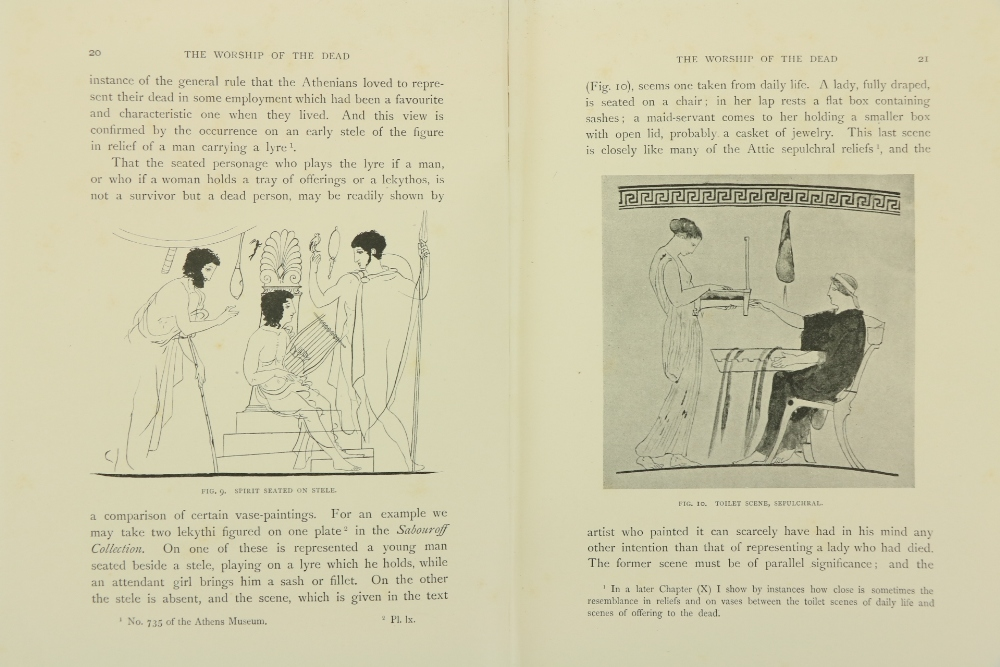 Gardner (Percy)Sculptured Tombs of Hellas, sm. folio L. 1896.First Edn., hf. title, frontis & 29 - Image 3 of 3