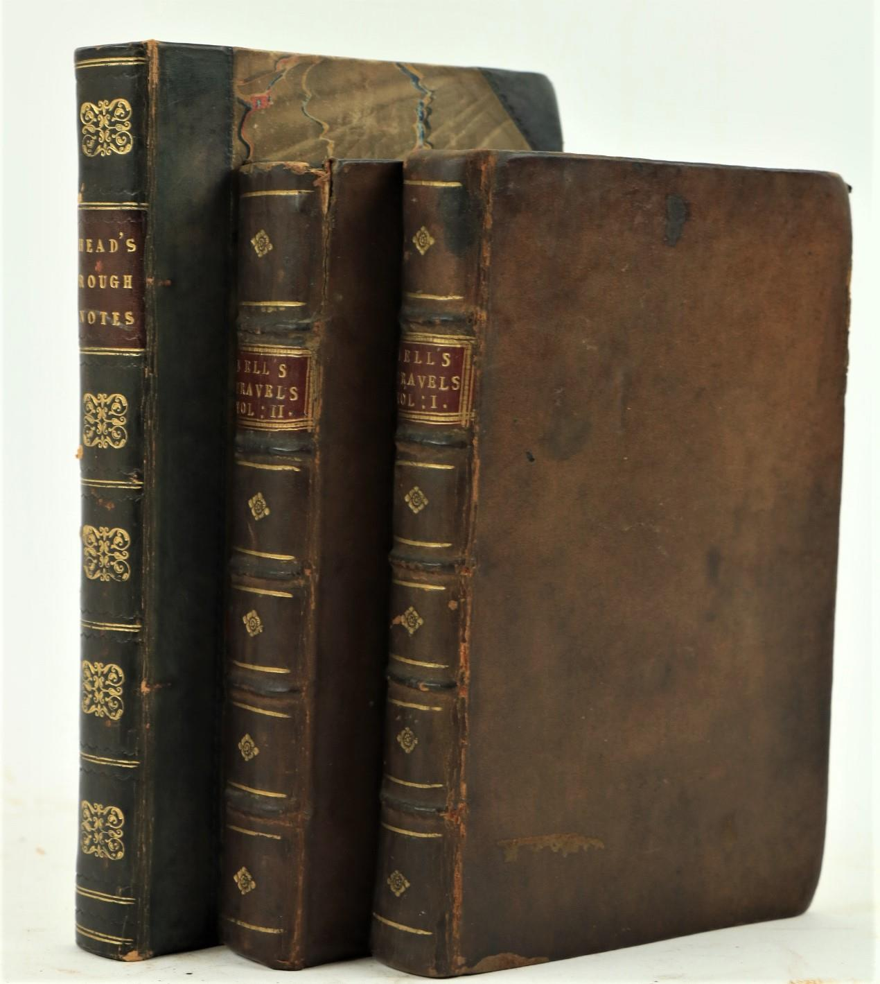 Bell (John)Travels from St. Petersburg in Russia, to Diverse Parts of Asia, 2 vols. Sm. 8vo