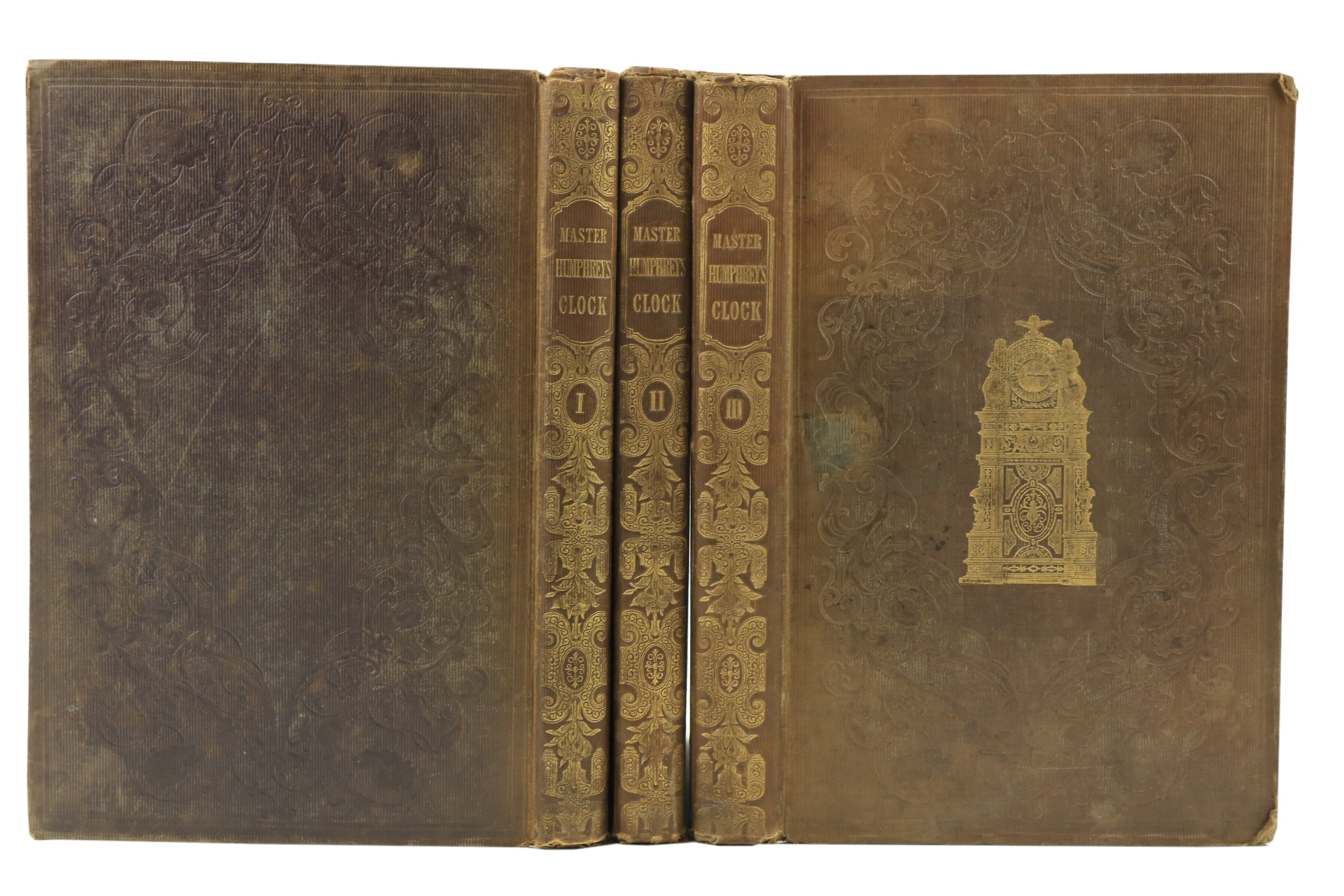 Dickens (Charles)ÿMaster Humphrey's clock, 3 vols. folio L. (Chapman & Hall) 1840.ÿFirst Edn., - Image 2 of 3
