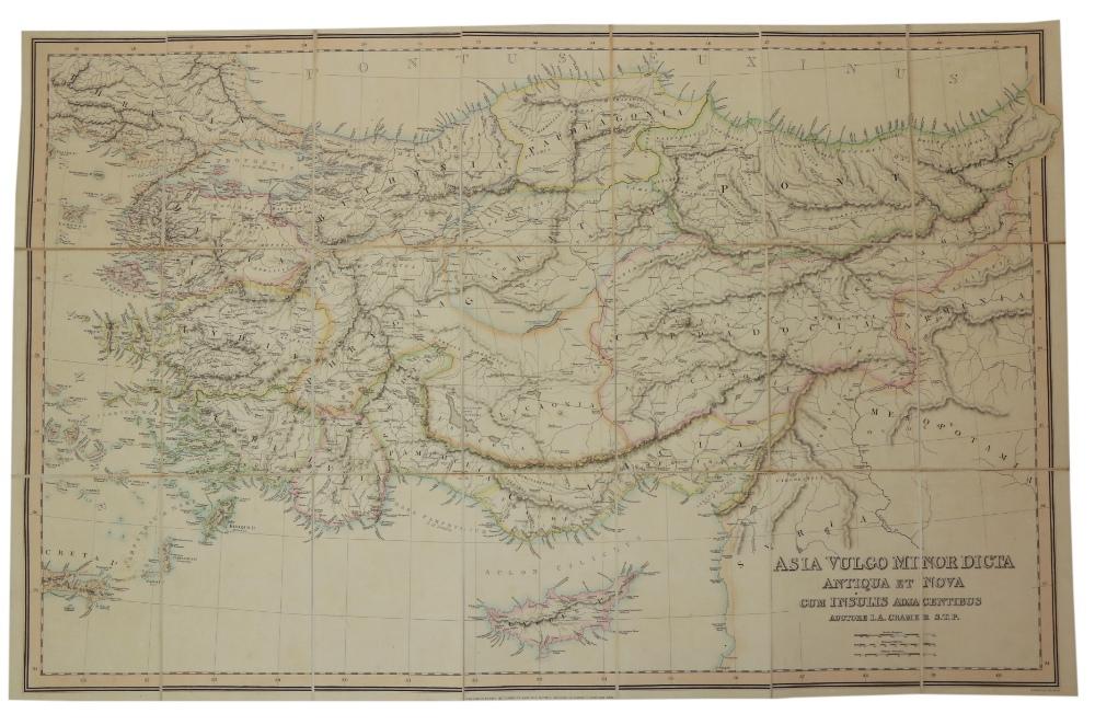 Maps: Cramer (J.A.) & Parker (Joseph) PublisherGraecia Antiqua et Nova una cum Insulis - Image 3 of 5