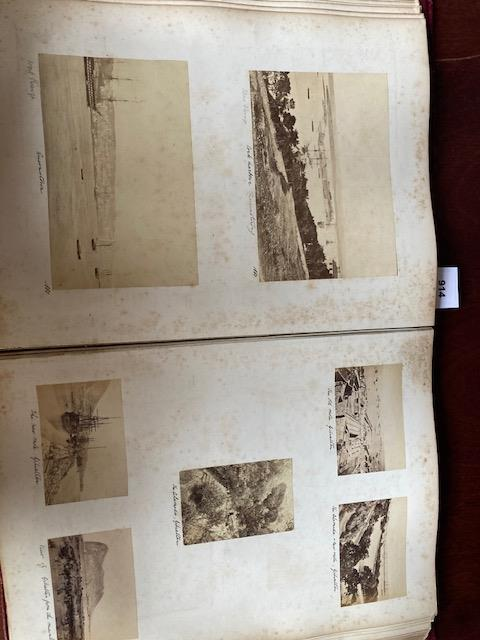 Photographs:ÿ A very good Album of original Photographsÿof various sizes, of travels by a member - Image 18 of 27