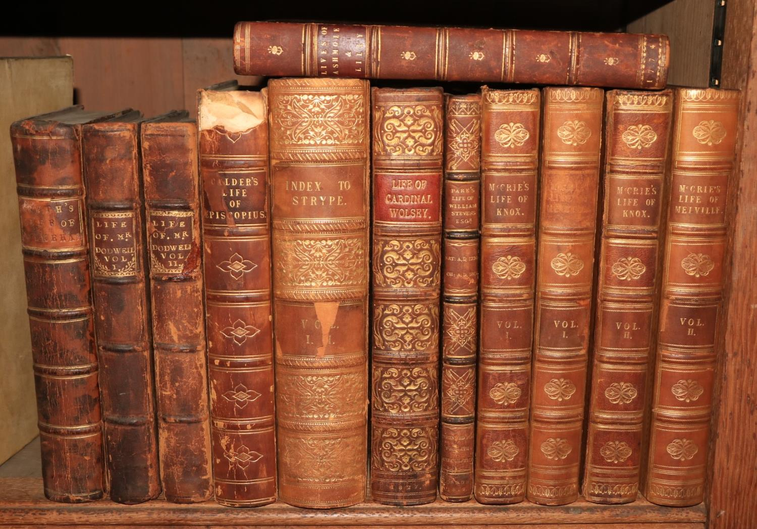 English Biography:ÿÿBrokesby (Francis)ÿThe Life of Mr. Henry Dodwell, 2 vols. 8vo Lond. 1715.