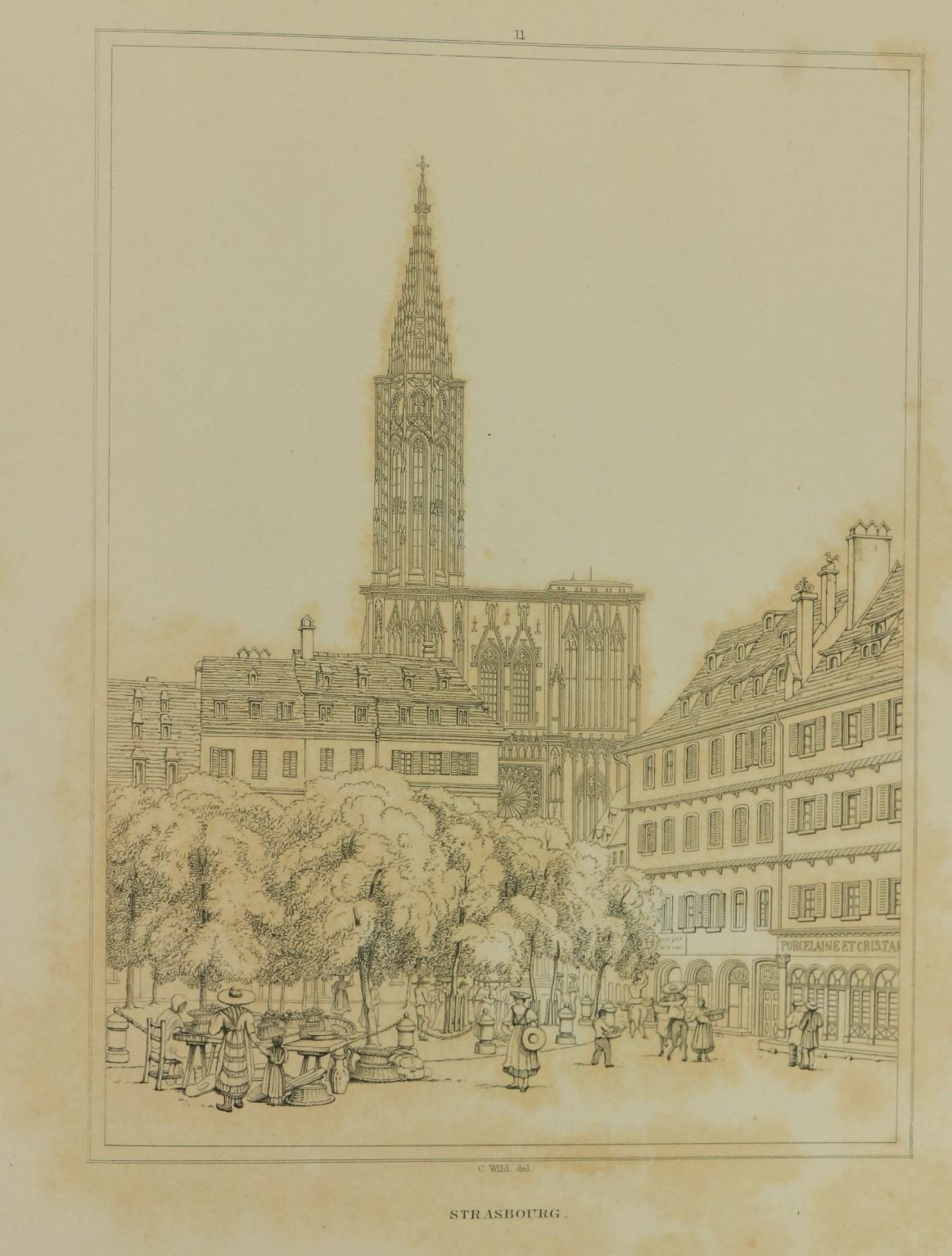 Wild (Charles)ÿSelect Examples of Architectural Grandeur in Belgium, Germany and France, Lg. folio - Image 4 of 6