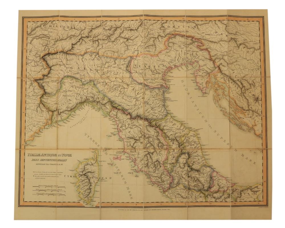 Maps: Cramer (J.A.) & Parker (Joseph) PublisherGraecia Antiqua et Nova una cum Insulis - Image 5 of 5