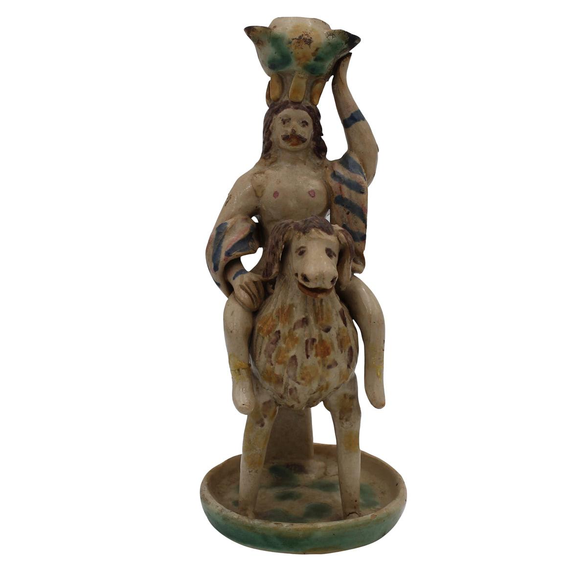 LUCERNA DI FORMA ANTROPOMORFA-ANTHROPOMORPHIC LAMP