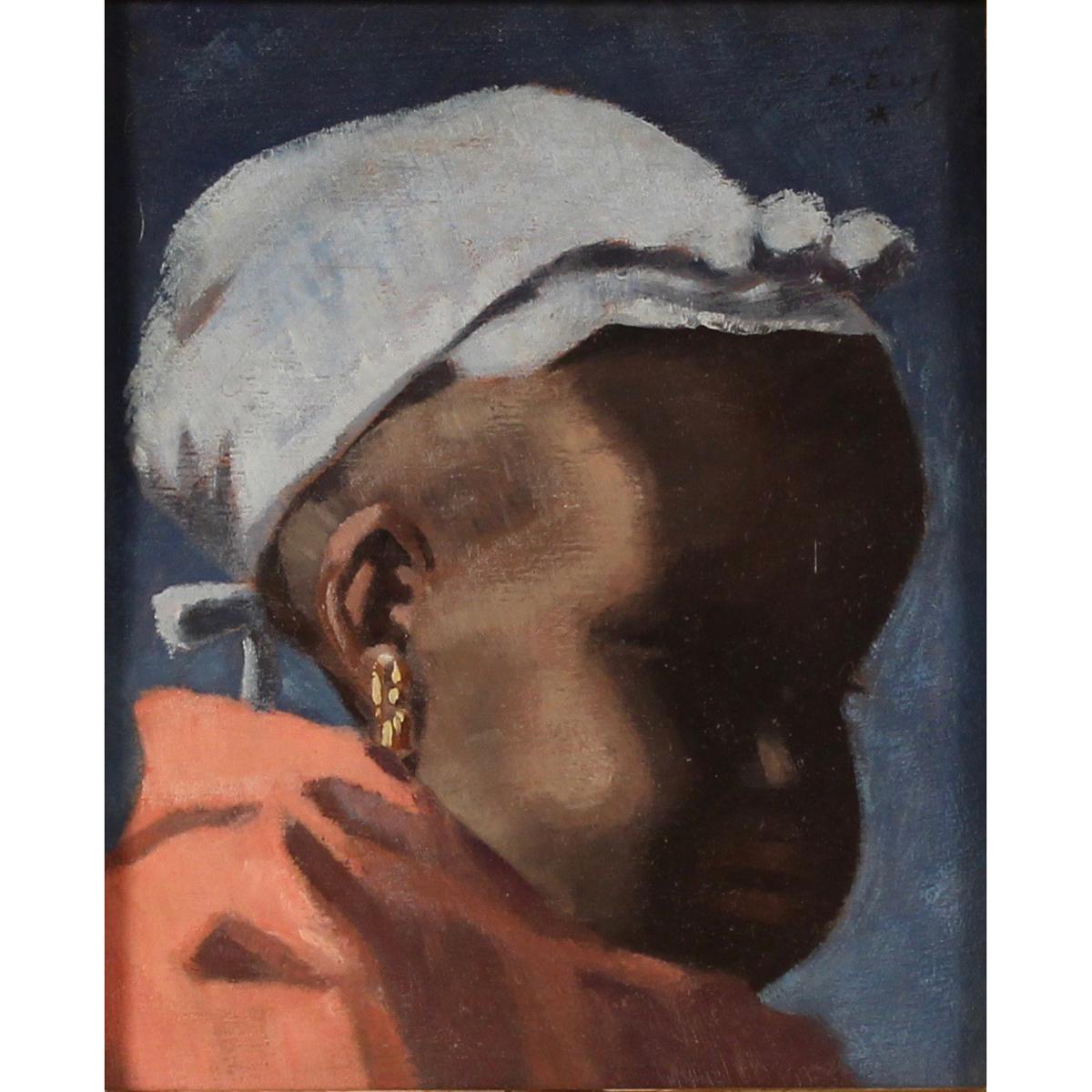 "MELKIORRE MELIS (1889/1982) ""Bimba negra"" - ""Black baby"""