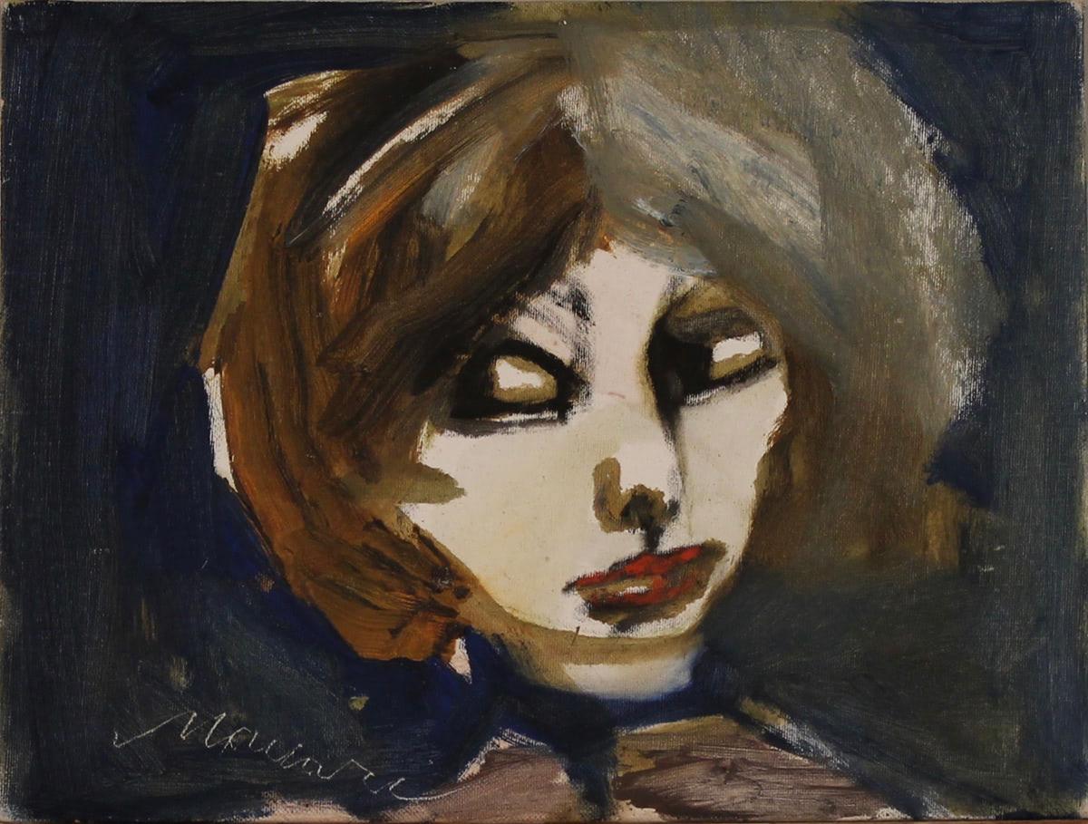 """MINO MACCARI (1898/1989) """"Testina"""""""