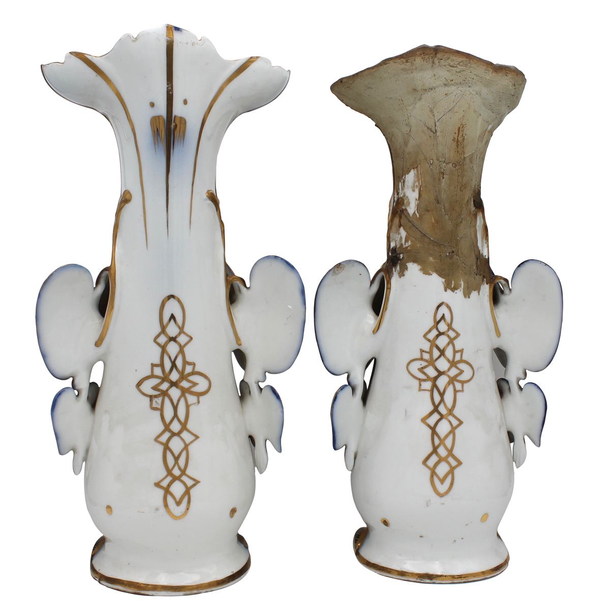 COPPIA VASI - COUPLE OF VASES - Image 2 of 2