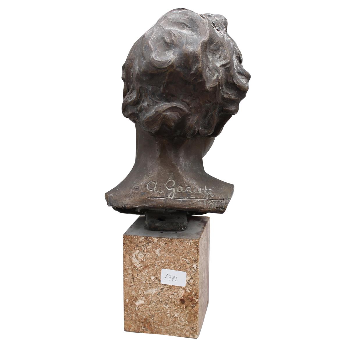 TESTA DI GIOVINETTO-HEAD OF A YOUNG MAN - Image 2 of 2