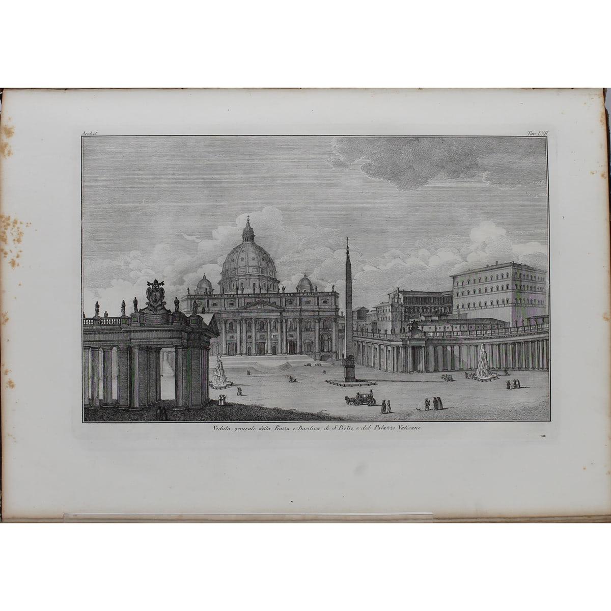 """""""STORIA DELL'ARTE DIMOSTRATA CON I MONUMENTI """" di G.B.L.G. SEROUX D'AGINCOURT-""""HISTORY OF ART DEMONS - Image 3 of 4"""