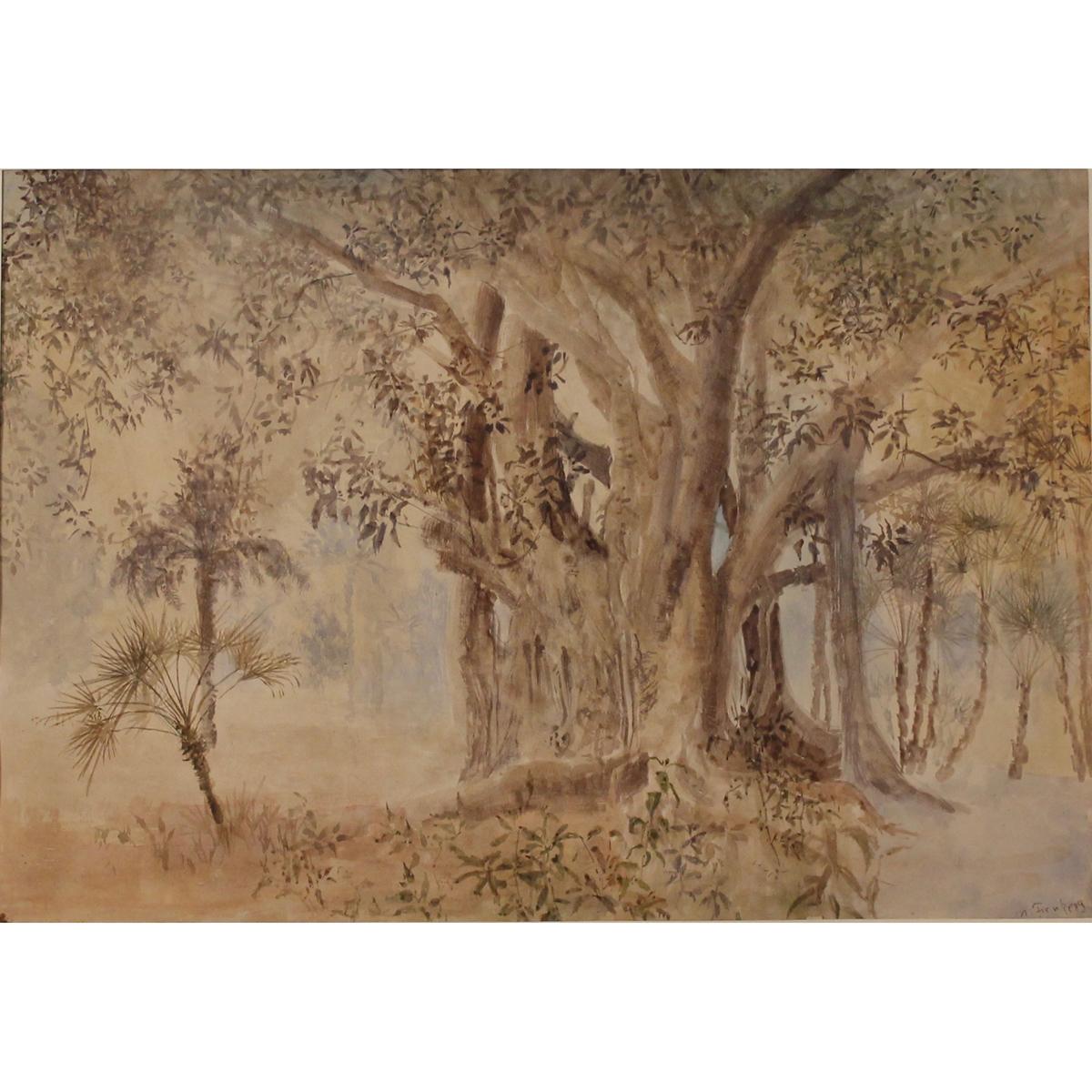 "MICHAEL FRANKE (1957) ""Grande magnolia""-""Big magnolia"""