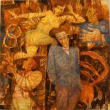 """REMO SQUILLANTINI (1920/1996) """"Figure""""-""""Figures"""""""