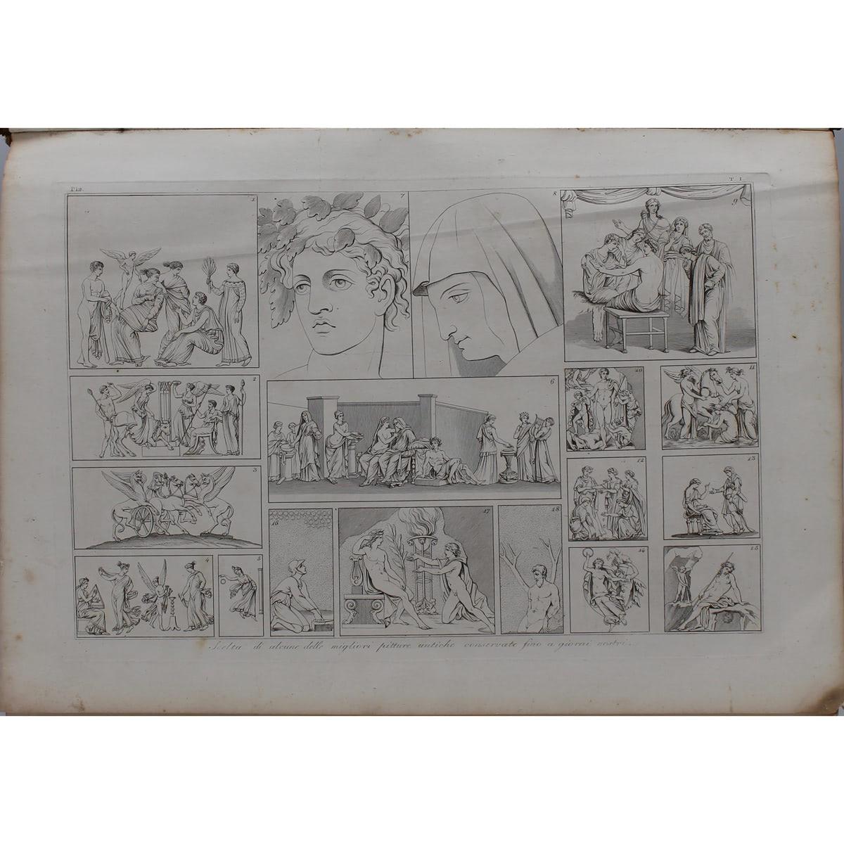 """""""STORIA DELL'ARTE DIMOSTRATA CON I MONUMENTI """" di G.B.L.G. SEROUX D'AGINCOURT-""""HISTORY OF ART DEMONS - Image 2 of 4"""