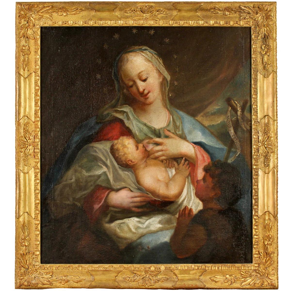 """SCUOLA DEL SUD ITALIA DEL SECOLO XVIII """"La Madonna col Bambino""""-SOUTH ITALY SCHOOL OF THE XVIII CENT - Image 2 of 2"""
