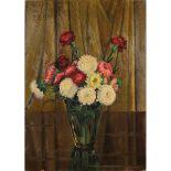 """VALENTINO GHIGLIA (1903/1960) """"Vaso con fiori""""-""""Vase with flowers"""""""