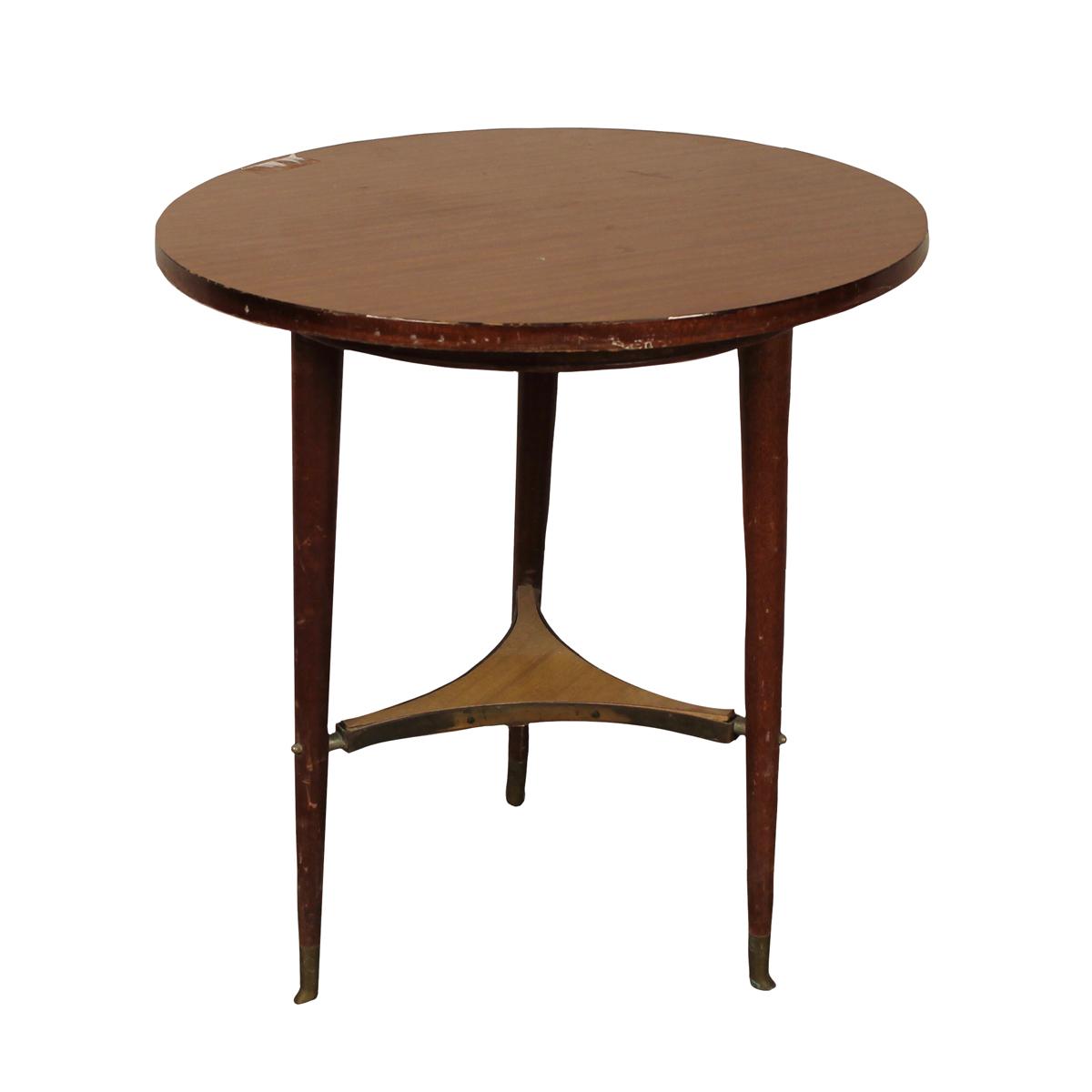 PICCOLO TAVOLINO TONDO - SMALL ROUND TABLE