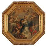 """SCUOLA SICILIANA DELLA FINE DEL SECOLO XVIII """"Assunzione della Vergine"""" - SICILIAN SCHOOL OF THE END"""