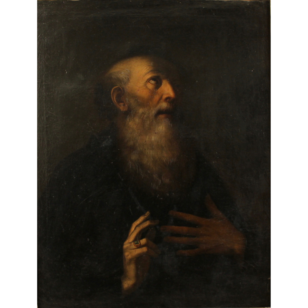 """SCUOLA NAPOLETANA DEL SECOLO XVIII """"San Benedetto""""-18th CENTURY NEAPOLITAN SCHOOL """"San Benedetto"""""""