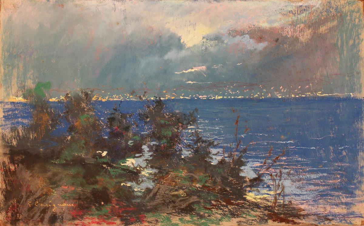 "ROBERTO CARIGNANI (1894/1975) ""Marina"""