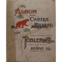 """ALBUM POUR CARTES RECLAME """"Tobler & Co."""""""
