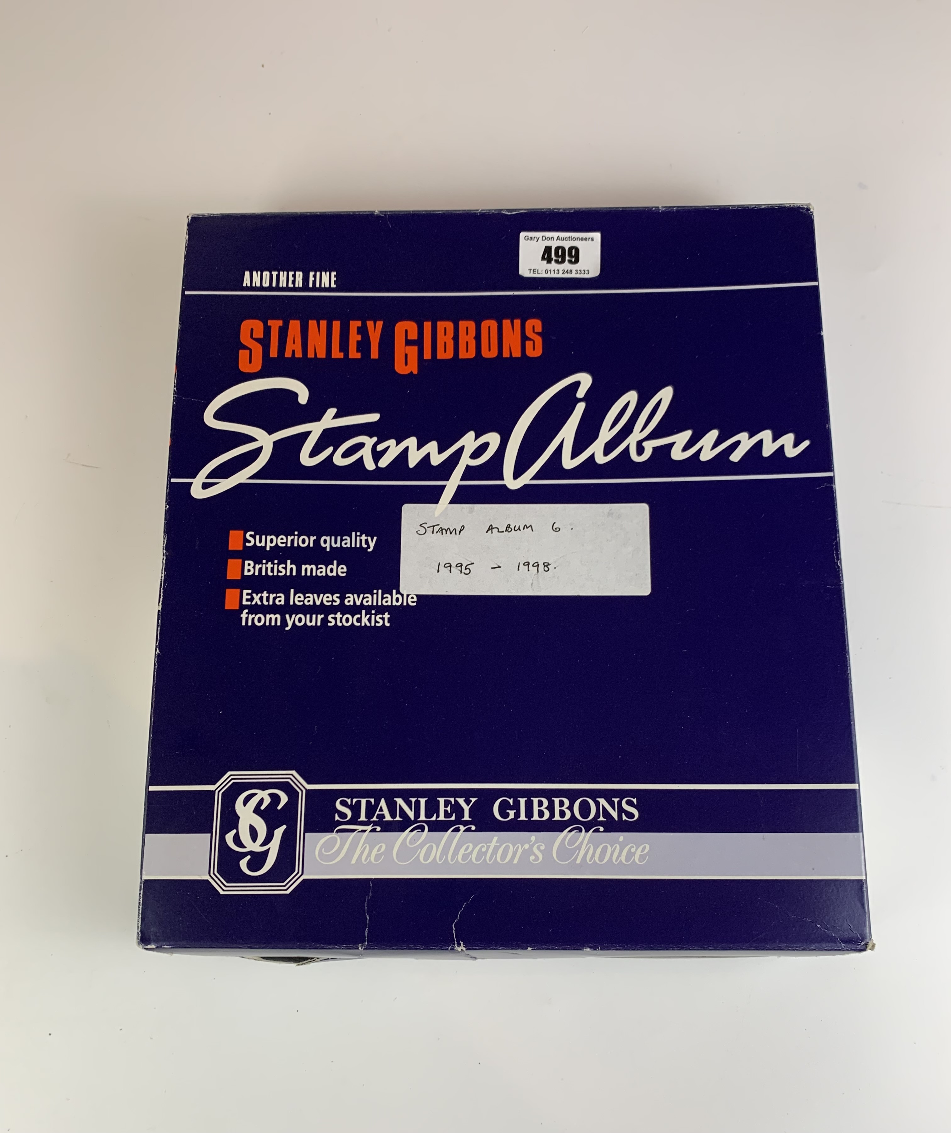 Boxed Stanley Gibbons album of mint UK/Guernsey/Jersey/Isle of Wight stamps and first day covers