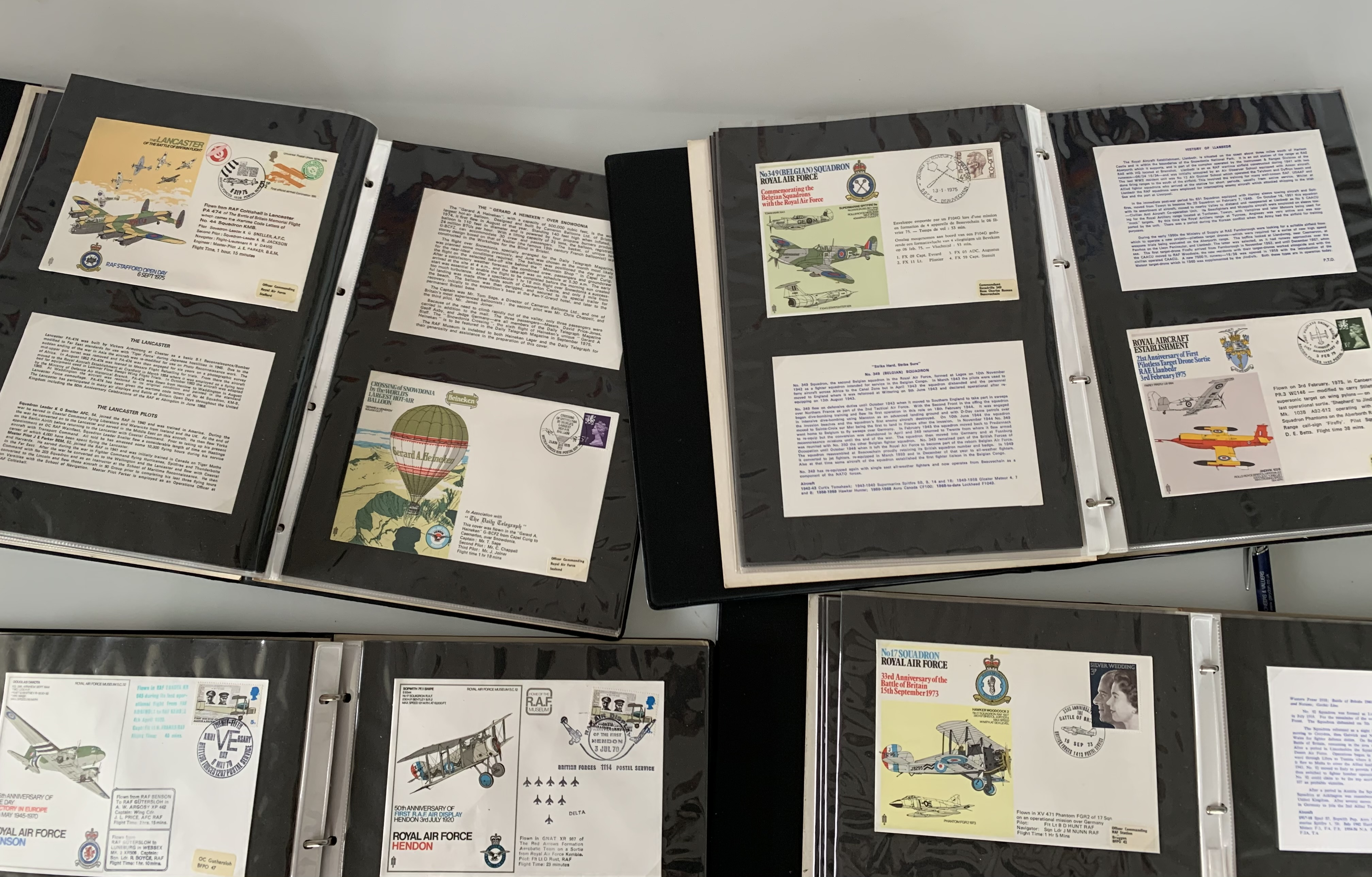 Catalogue of RAF Museum Flight Covers and 4 albums of RAF Covers - Image 3 of 3