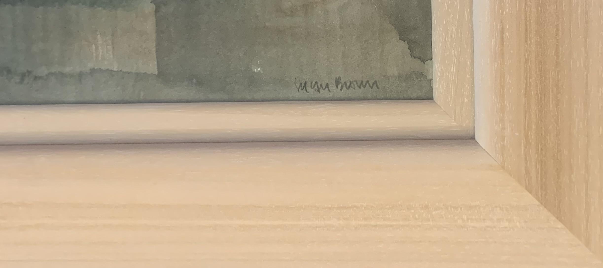 "Susan Brown watercolour 'Ponte Vecchio' , image 20"" x 14"", frame 29"" x 23.5"" good condition - Image 2 of 4"