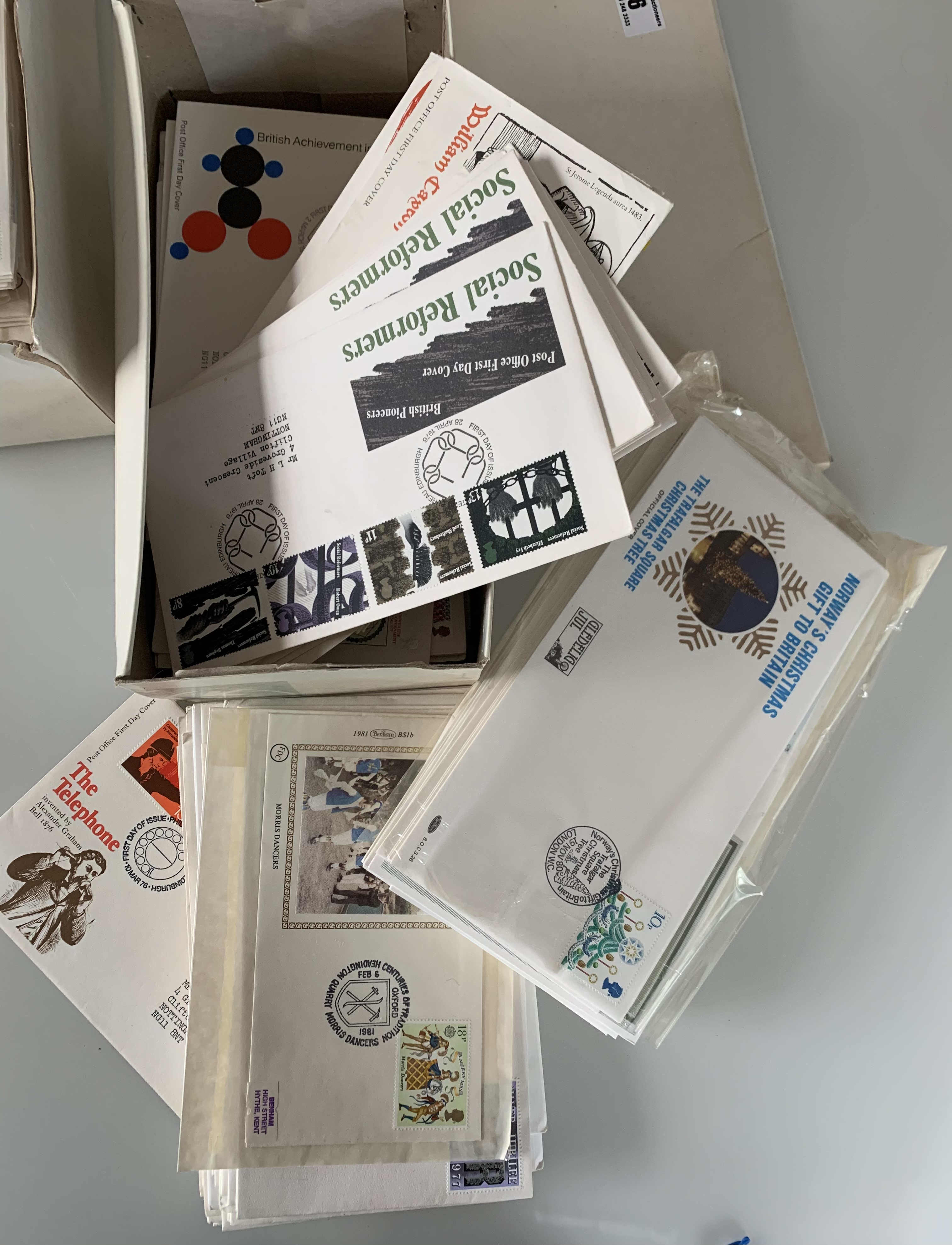 2 white boxes of First Day Covers - Image 3 of 3