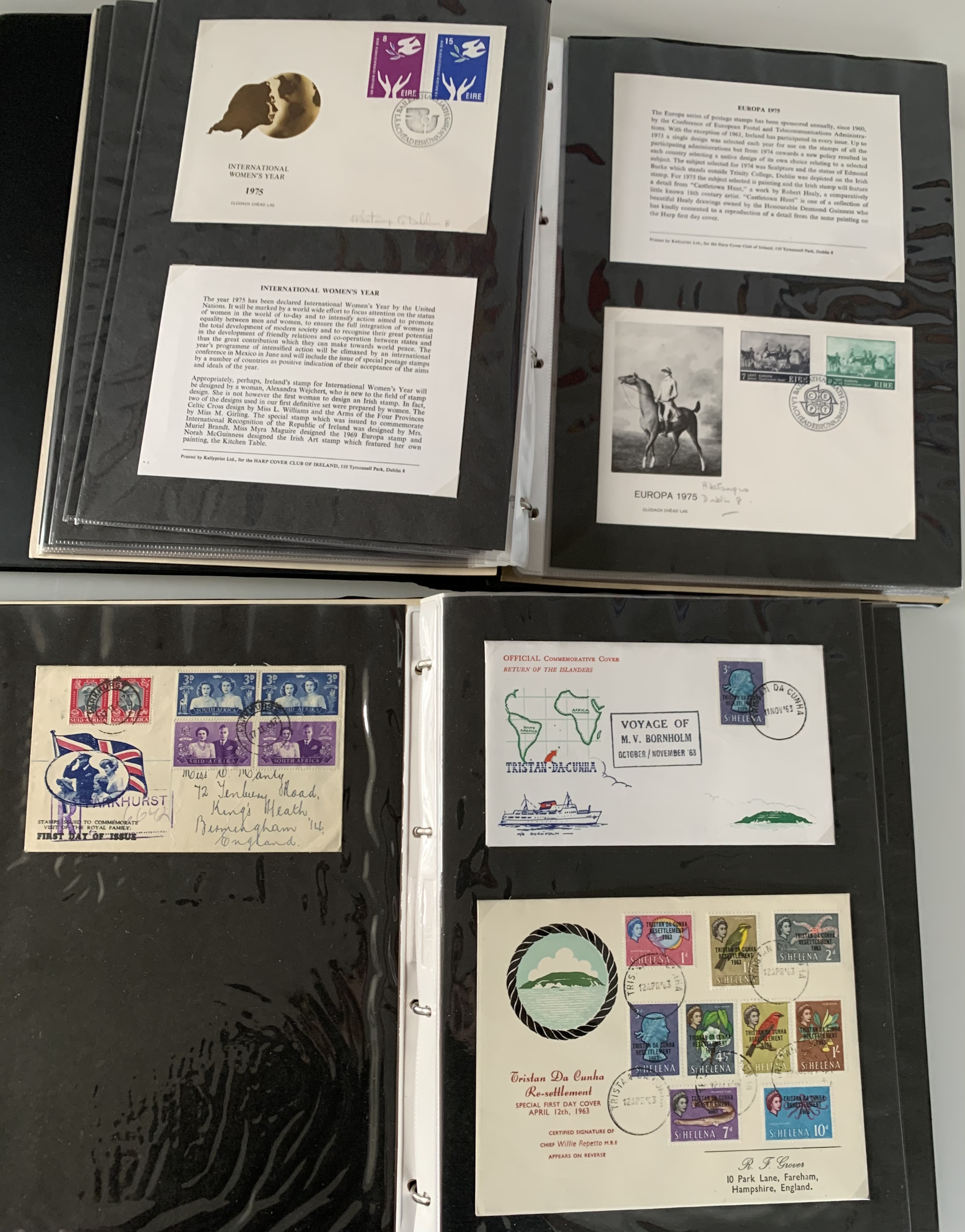 A Commonwealth First Day Cover album and another First Day Cover album - Image 3 of 3