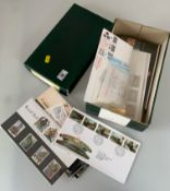 First Day Covers and Presentation Packs