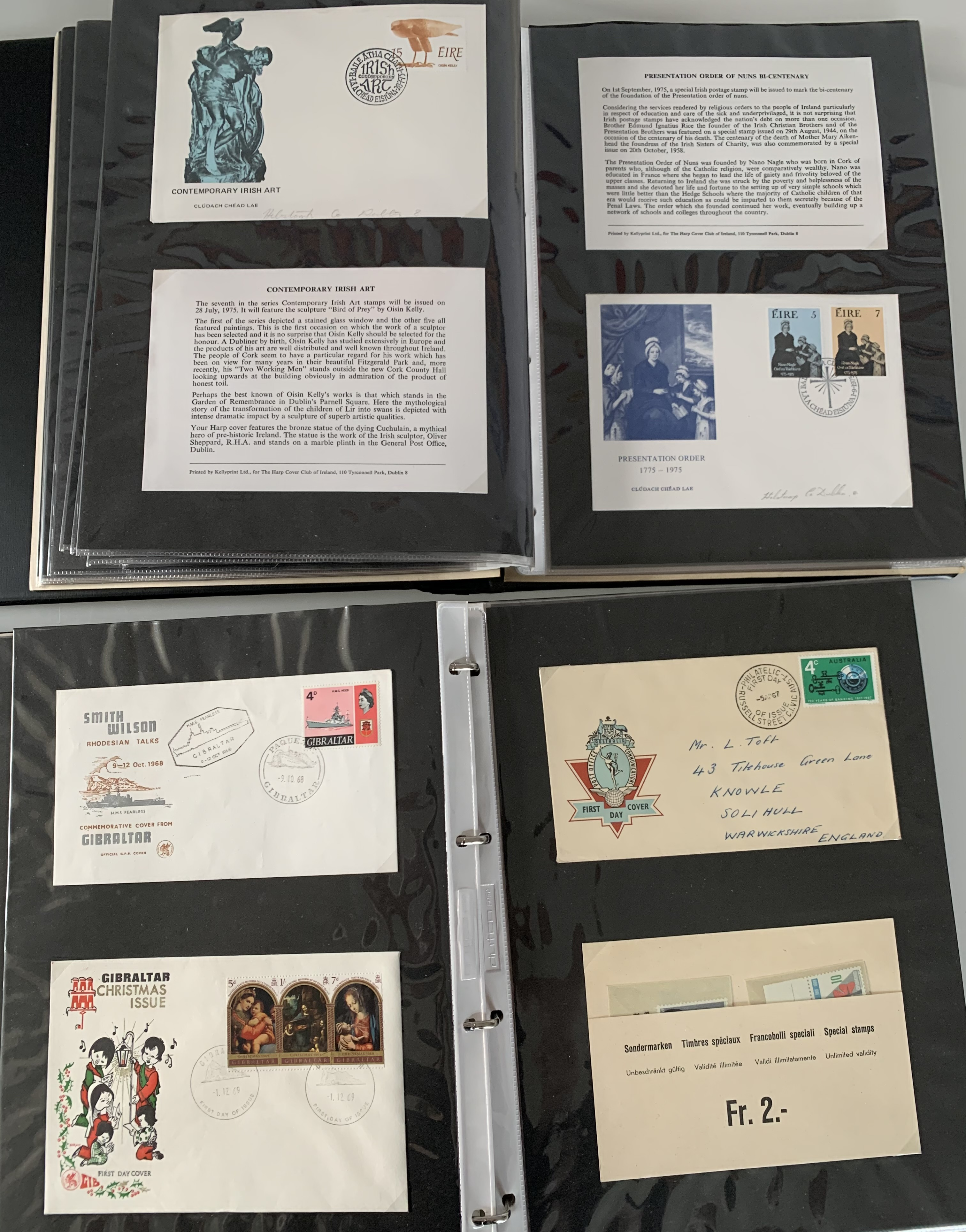 A Commonwealth First Day Cover album and another First Day Cover album - Image 2 of 3