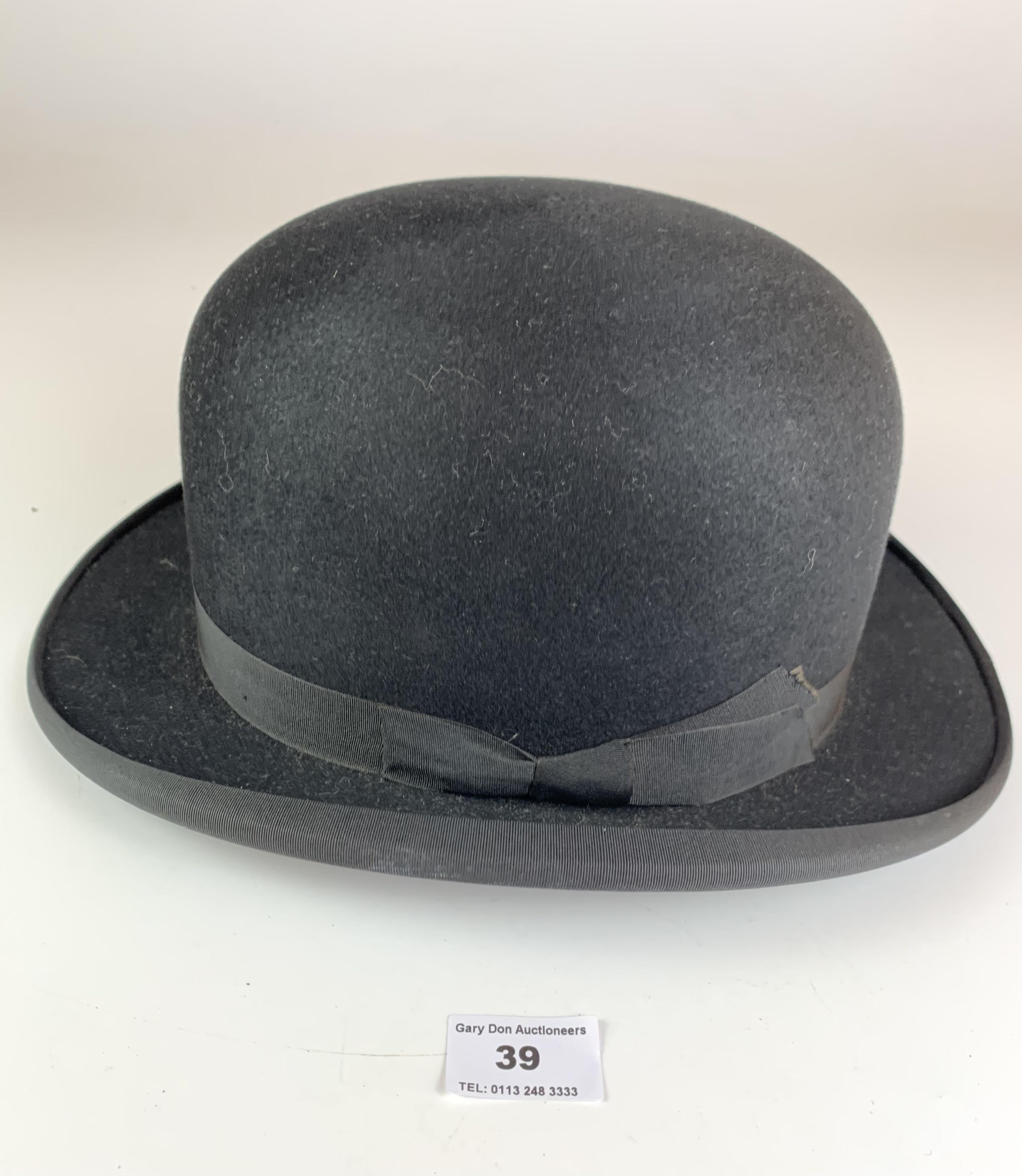 Bowler hat by John Craig, Hatter, Leeds - Image 4 of 6