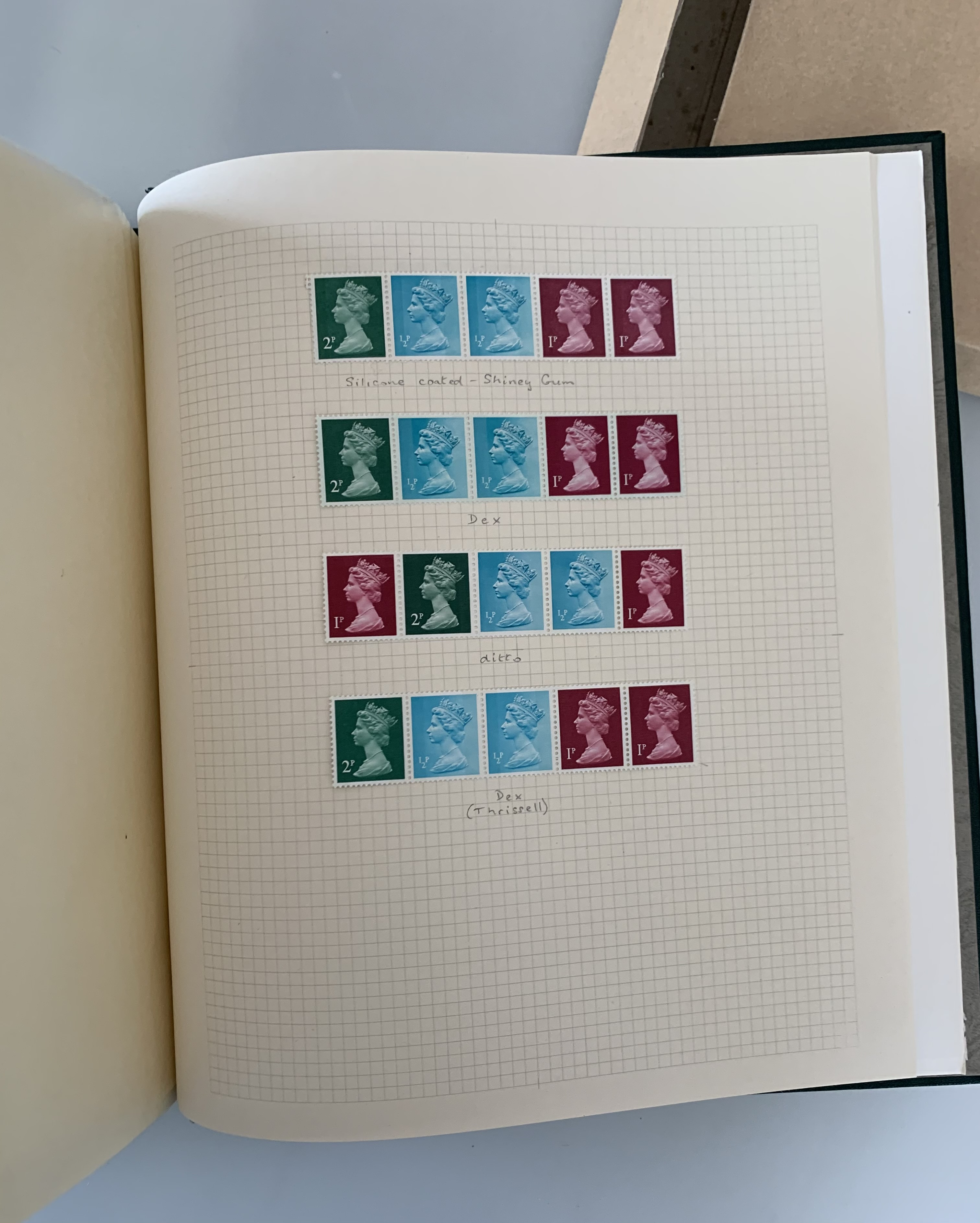 Boxed green album of GB definitives 1971 - Image 2 of 3