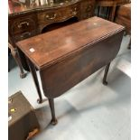 """Dropleaf padfoot gateleg table 32"""" deep, 38""""open, 14"""" closed, 28"""" high"""