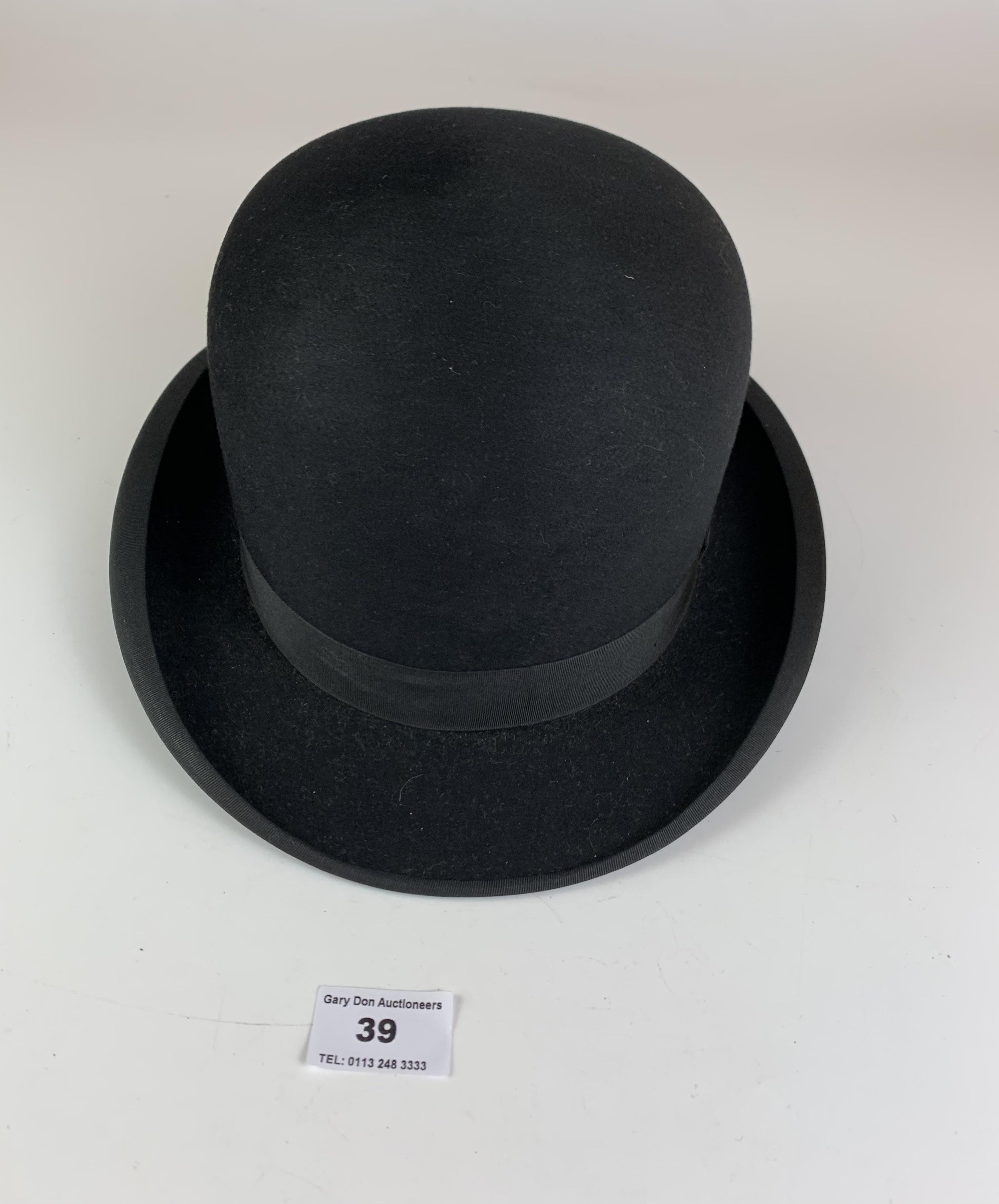 Bowler hat by John Craig, Hatter, Leeds - Image 3 of 6