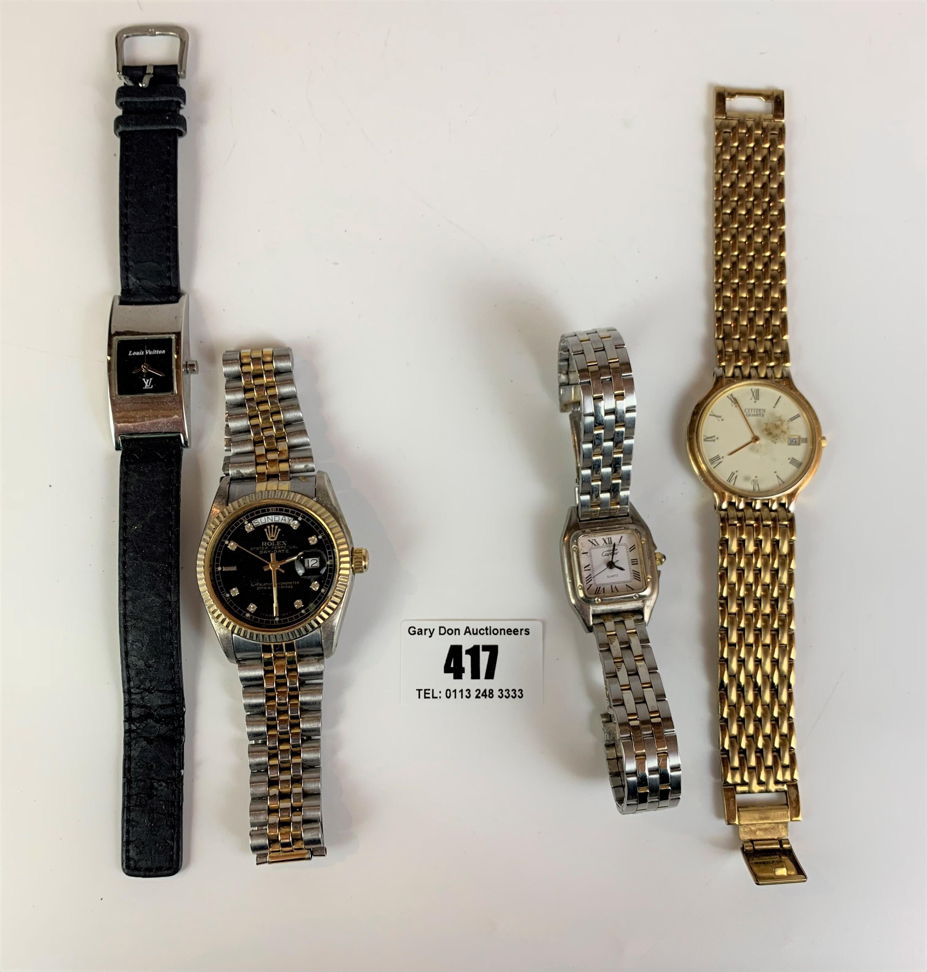 4 dress watches