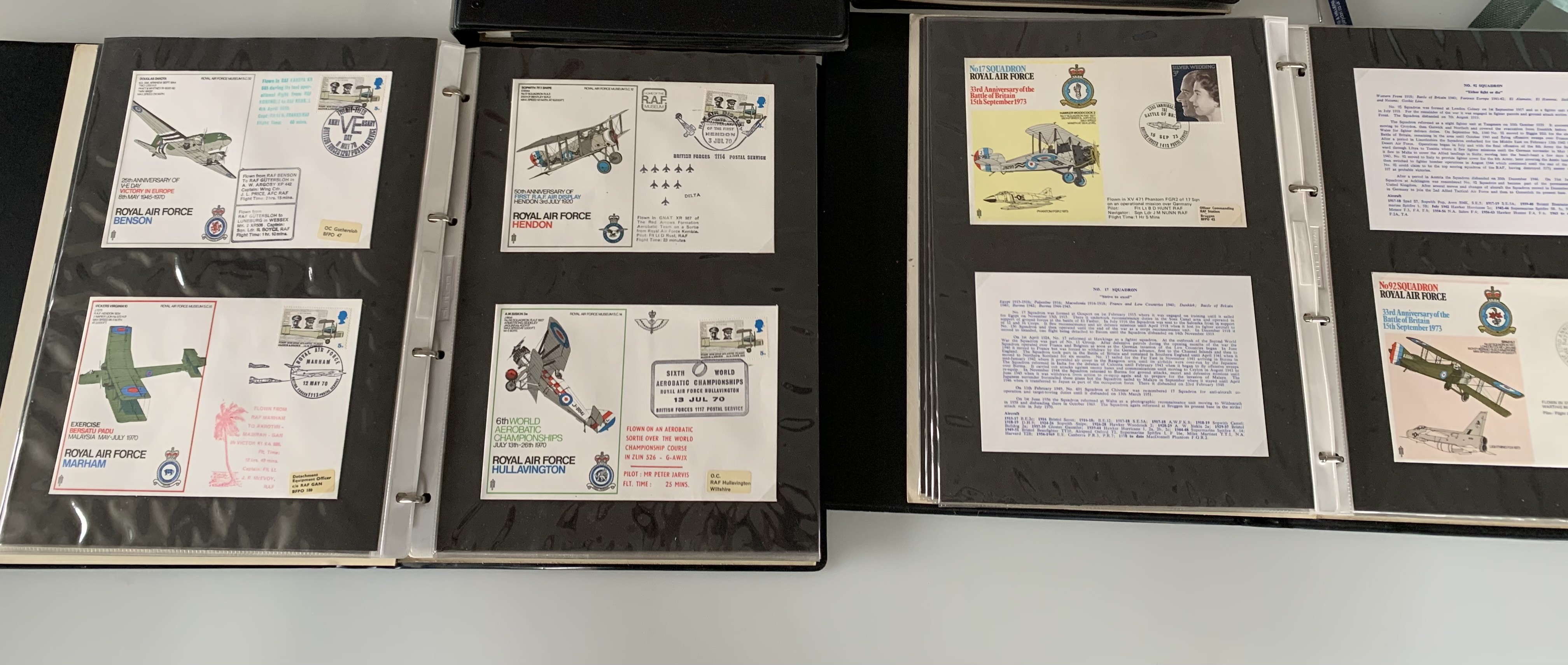 Catalogue of RAF Museum Flight Covers and 4 albums of RAF Covers - Image 2 of 3