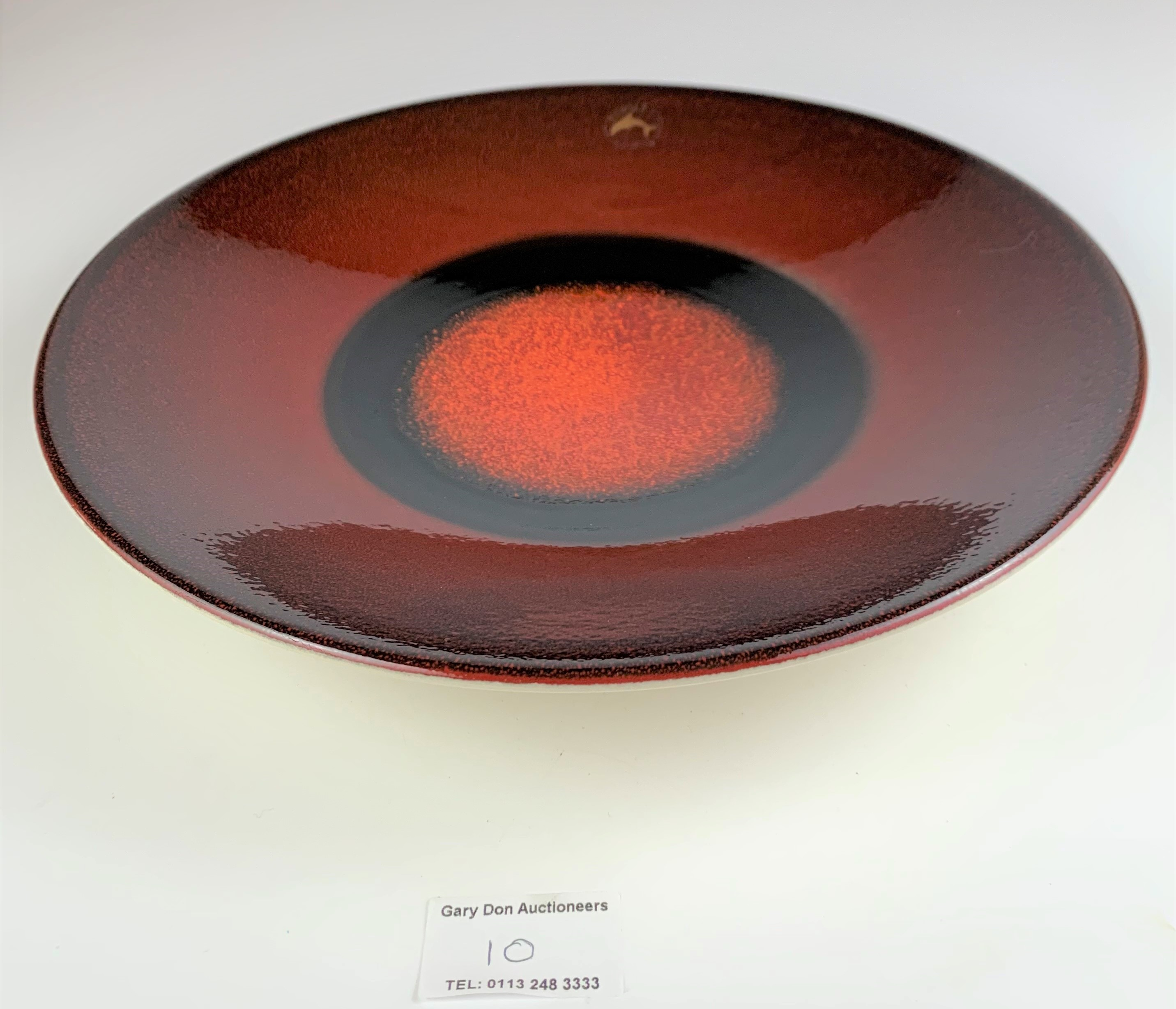 """Limited edition Poole plate, Mars, to mark the Alignment of the Planets 2000, 10.5"""" diameter, no - Image 3 of 7"""