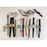 Bag of assorted dress watches