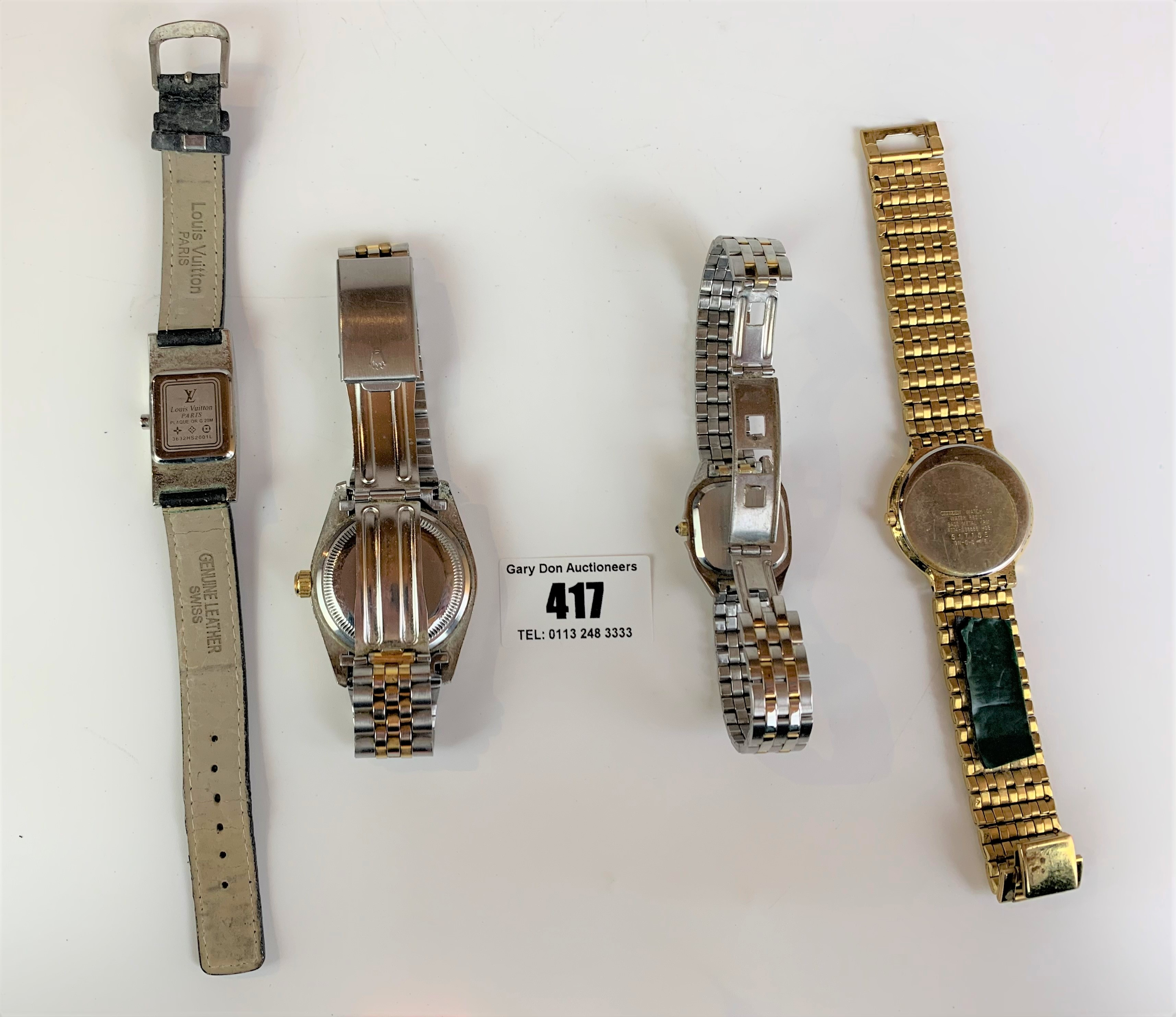 4 dress watches - Image 4 of 8