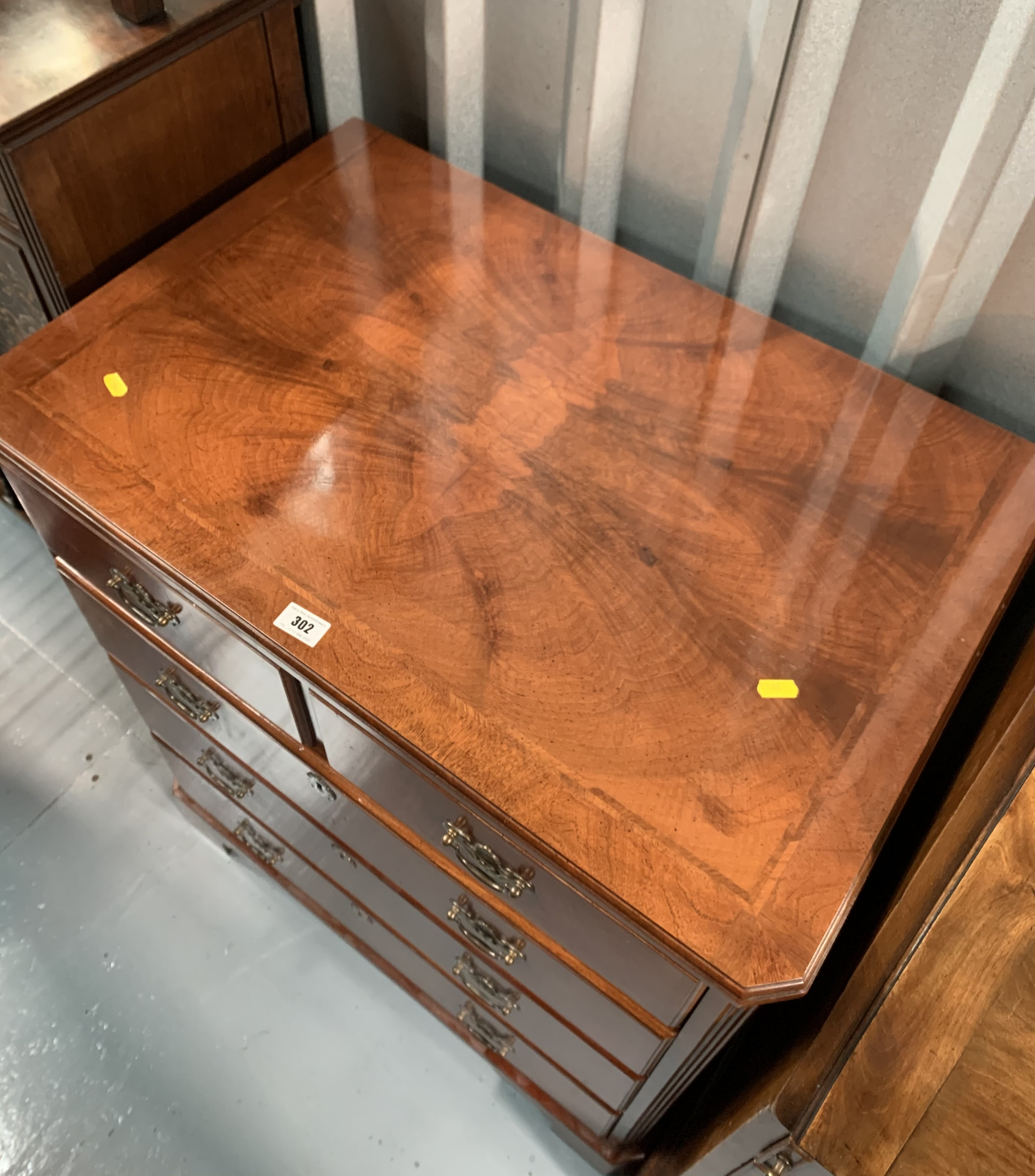 """Reproduction hifi cabinet. 35"""" high, 30"""" wide, 19"""" depth - Image 5 of 7"""