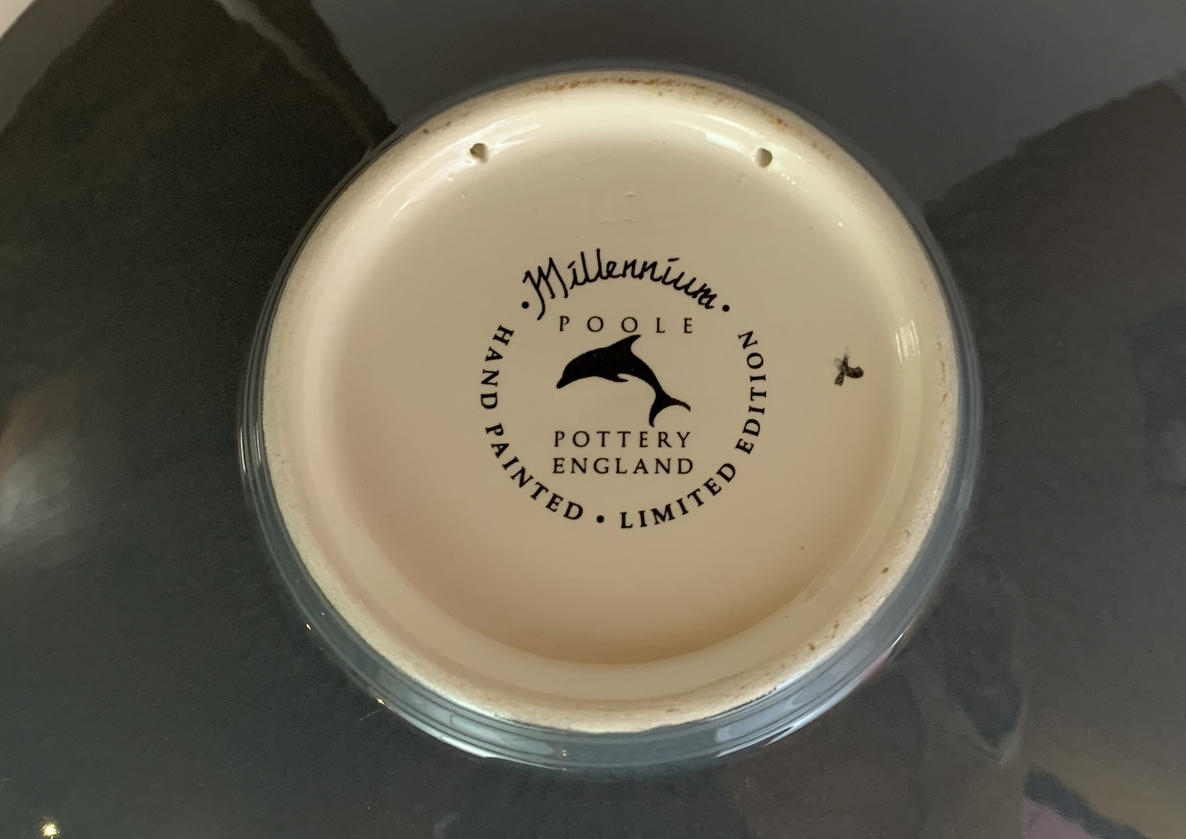 """Limited edition Poole plate, Millennium no. 211/500 with certificate, 10.5"""" diameter, no damage - Image 5 of 6"""
