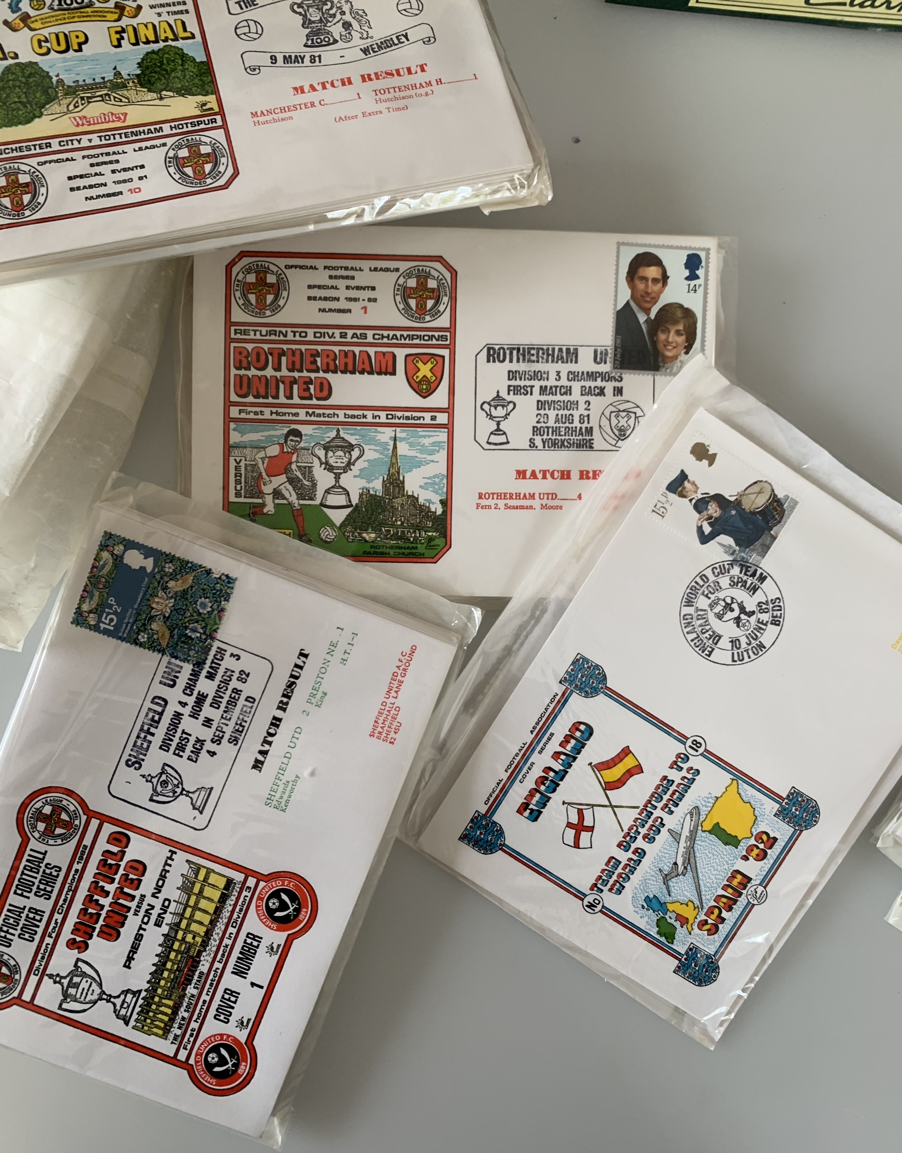 Shoebox of First Day Covers including RAF - Image 4 of 4