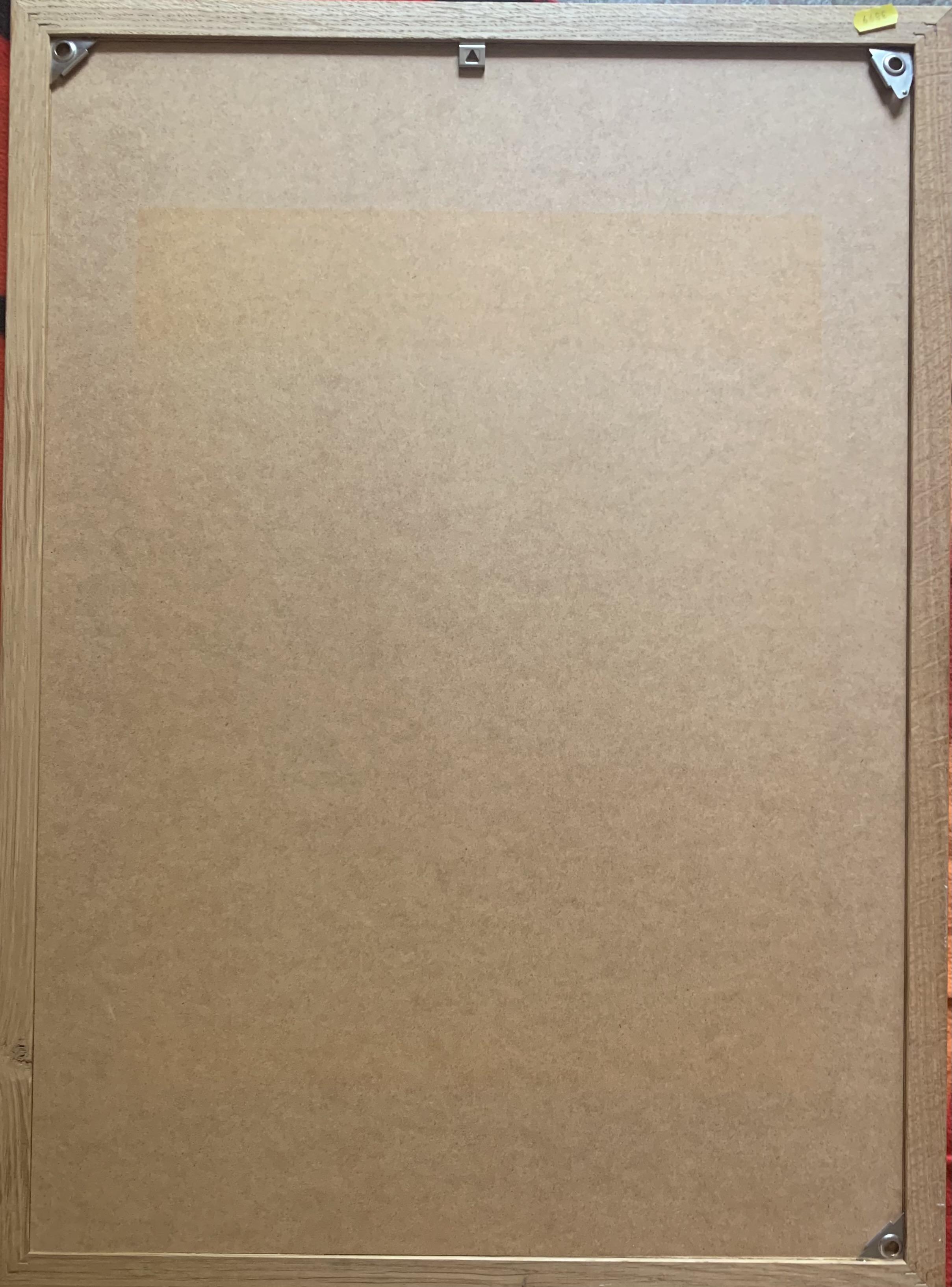 "Advertising poster – La Mauny, Rhum Blanc Agricole, Martinique. Image 18"" x 26"", frame 21.5"" x 29. - Image 2 of 2"