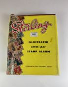 Stirling album of GB and other mint UK/Guernsey/Jersey/Isle of Wight definitives and first day